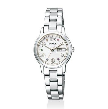 ウィッカ-ホワイト腕時計2
