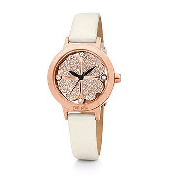 フォリフォリホワイト腕時計1