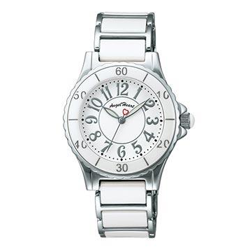 エンジェルハート-ホワイト腕時計3