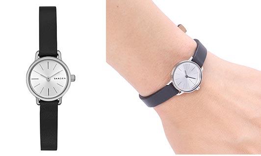 スカーゲンレディース腕時計1