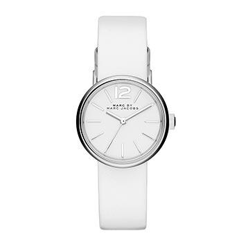 マークジェイコブスホワイト腕時計1
