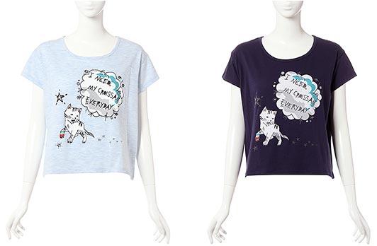 ポール&ジョー-シスター猫Tシャツ