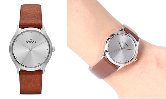 スカーゲンレディース腕時計3
