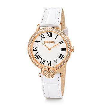 フォリフォリホワイト腕時計3
