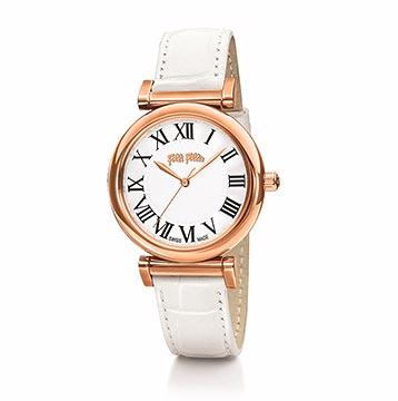 フォリフォリホワイト腕時計2