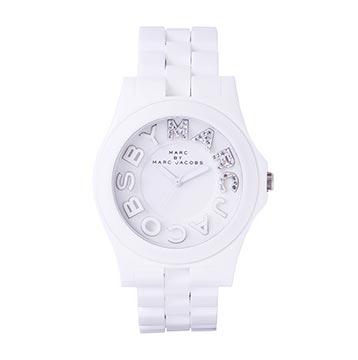 マークジェイコブスホワイト腕時計3