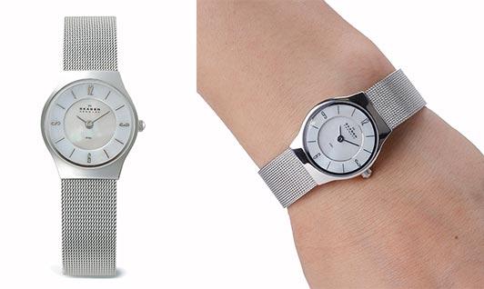 スカーゲンレディース腕時計2