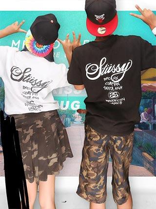stussyペアTシャツ3