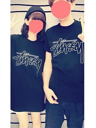 stussyペアTシャツ2