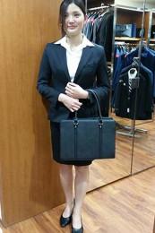 女性リクルートスーツコーデ-スカート1