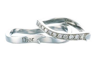 ディオール結婚指輪1