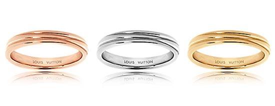 ルイヴィトン結婚指輪2