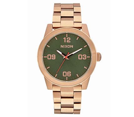 メタルブレス腕時計ゴールド1