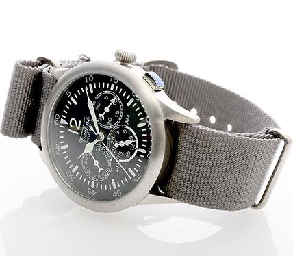 布ベルト腕時計ワンカラー3