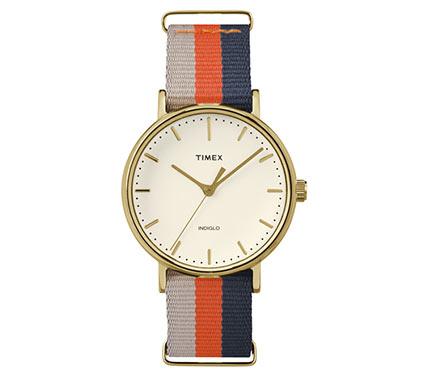 布ベルト腕時計マルチカラー1