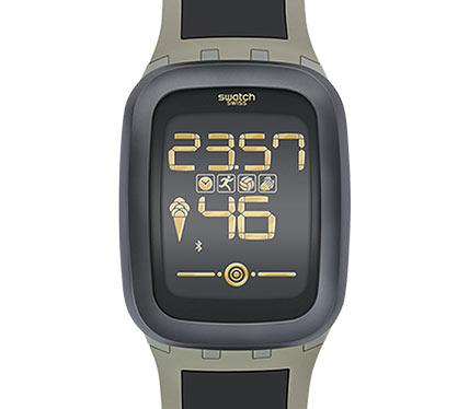 デジタル腕時計3