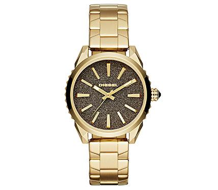 メタルブレス腕時計ゴールド4
