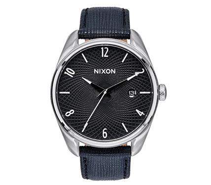 レザーベルト腕時計ブラック4