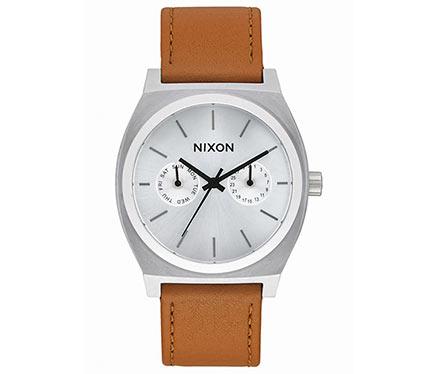 レザーベルト腕時計ブラウン1