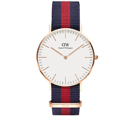 布ベルト腕時計マルチカラー4