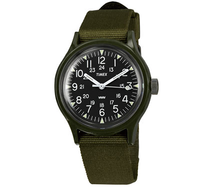 布ベルト腕時計ワンカラー1