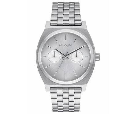 メタルブレス腕時計シルバー1