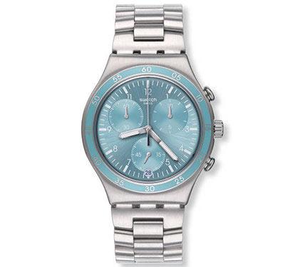 メタルブレス腕時計シルバー2
