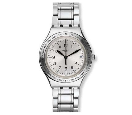 メタルブレス腕時計シルバー4