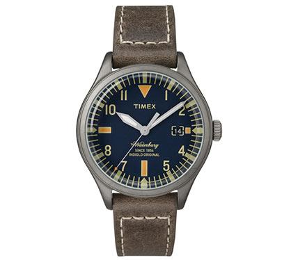 レザーベルト腕時計ブラウン4