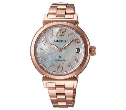 メタルブレス腕時計ゴールド2
