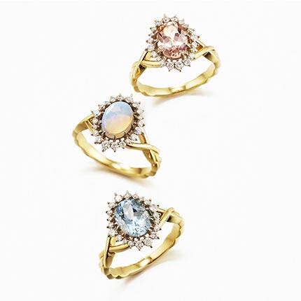 アガット婚約指輪2