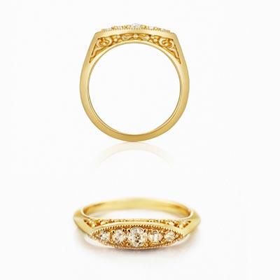アガット婚約指輪1
