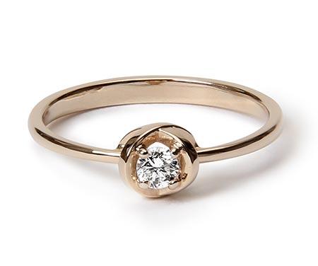 リア・ディ・グレゴリオ婚約指輪2
