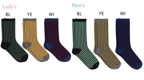 ウンナナクール-ペア靴下3