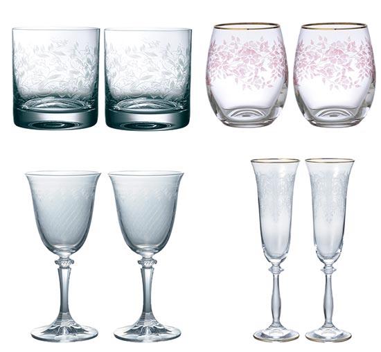 ボヘミアガラス-商品