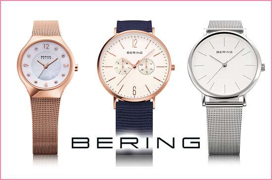 057c422f3d ベーリング(BERING). いつもの日常にスッと馴染む「ベーシックなウォッチ」が幅広い年代の方に愛用されている、北欧デンマーク生まれの腕時計ブランド。