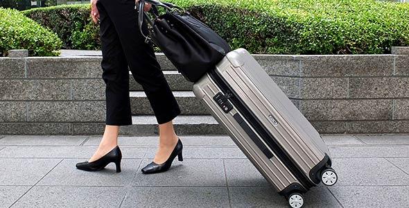 女性ビジネスキャリーバッグ
