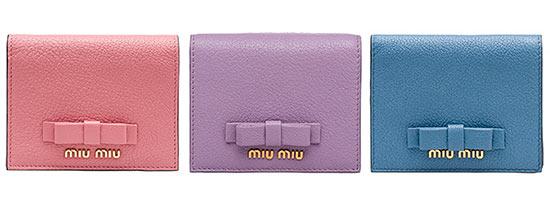 ミュウミュウミニ財布3