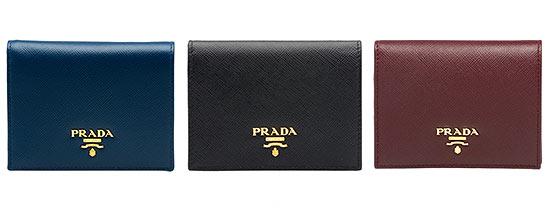 プラダミニ財布1