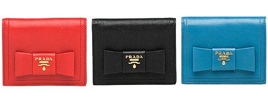 プラダミニ財布2