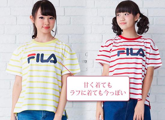 FILA Tシャツ1