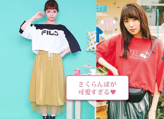 FILA Tシャツ2