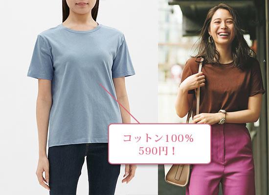 GU Tシャツ1
