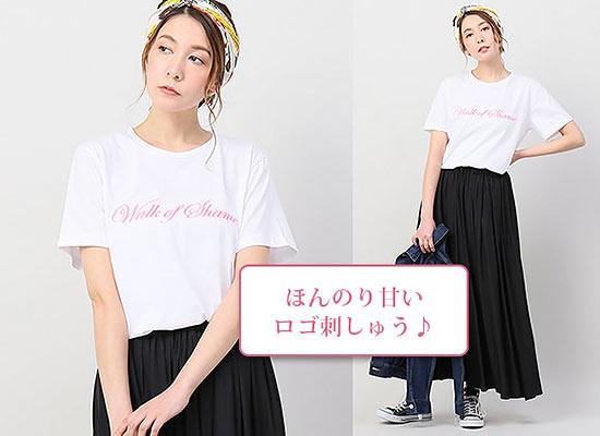 スピック&スパン ロゴTシャツ3