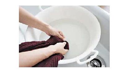 ニット洗い方2