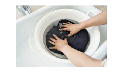 ニットの手洗い1
