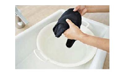 ニットの手洗い2
