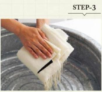 ストール 手洗い