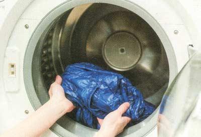 ダウン洗濯4
