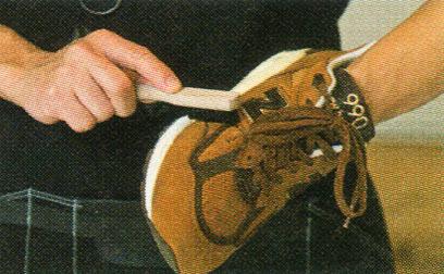 スエードスニーカー ケア2